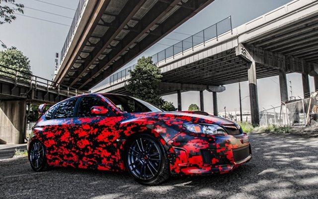 пленка на авто цена расцветка фото